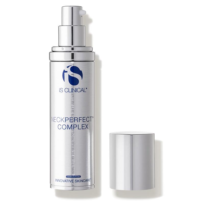iS Clinical NeckPerfect Complex Open Bottle