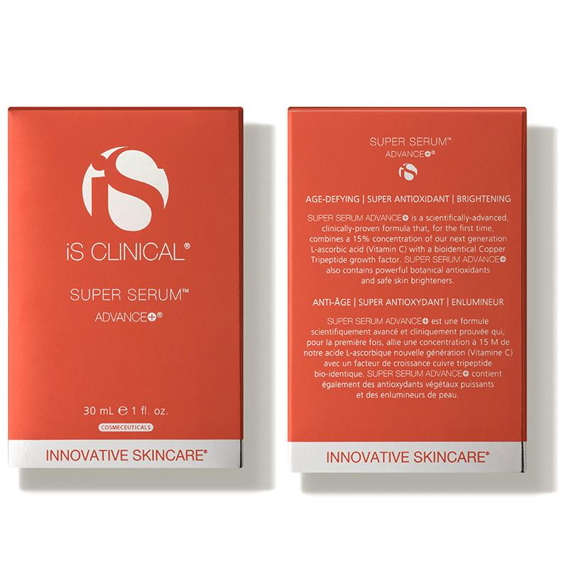 iS Clinical Super Serum Advance Plus Box Front and Back