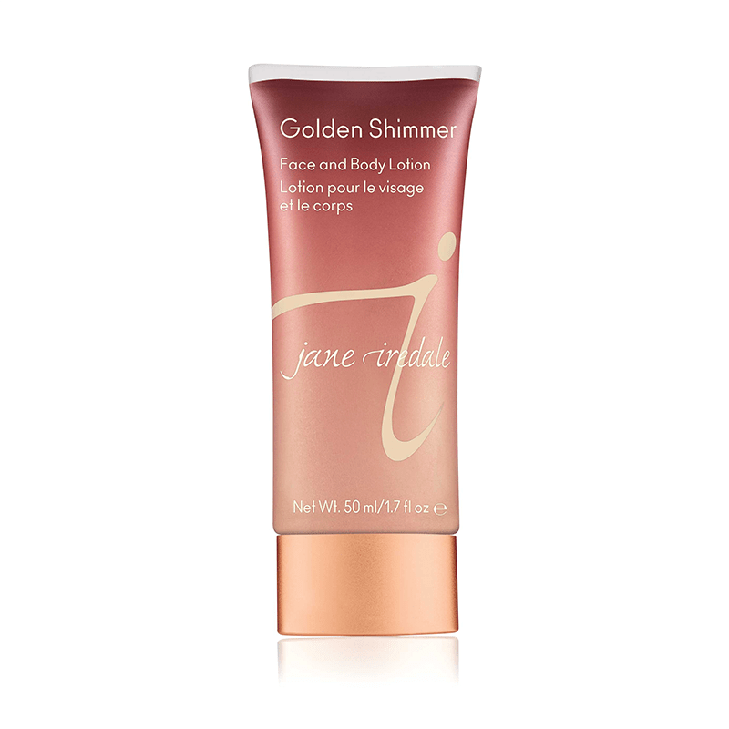 jane iredale Golden Shimmer Face and Body Lotion - Harben House