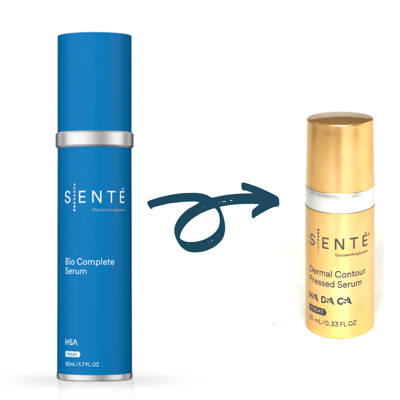 BOGO SENTÉ Bio Complete Serum (1.7 oz) + SENTÉ Dermal Contour Pressed Serum Trial Size FREE (Save $78)