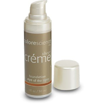 Colorescience Sheer Creme Foundation - Eye of the Tiger - 1 oz - $48.00
