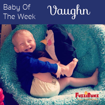 Baby Vaughn our Baby of The Week