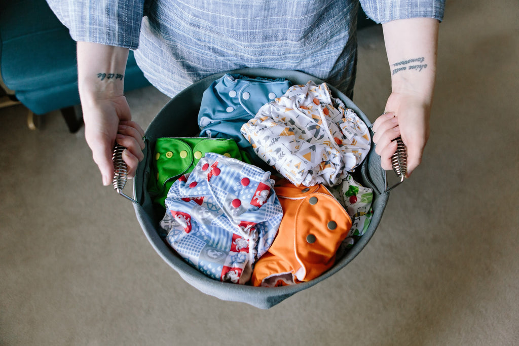 Top 5 Tips for Washing Cloth Diapers