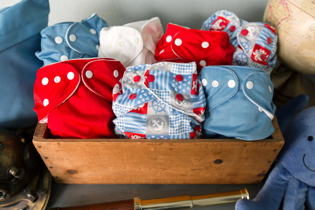 The Basics for Newborn Cloth Diapering