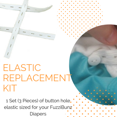 FuzziBunz | Elastic Replacement Kit