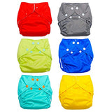 FuzziBunz All In One Diaper 6 Pack Bundle