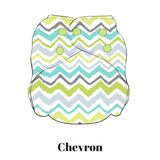 Chevron | FuzziBunz | All In One Diaper