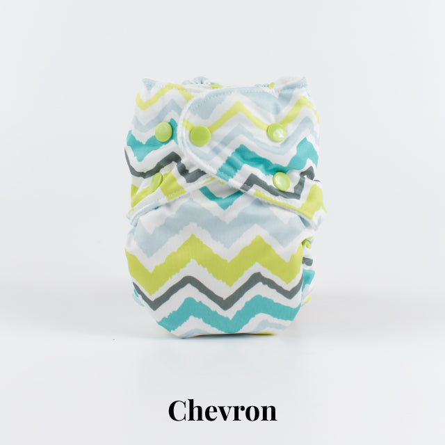 Chevron | FuzziBunz | One Size Pocket Diapers