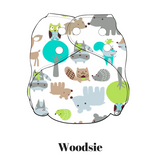 Woodsie | FuzziBunz | One Size Pocket Diapers