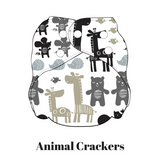 Animal Crackers | FuzziBunz | All In One Diaper
