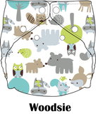 Woodsie | FuzziBunz | Perfect Size Diapers