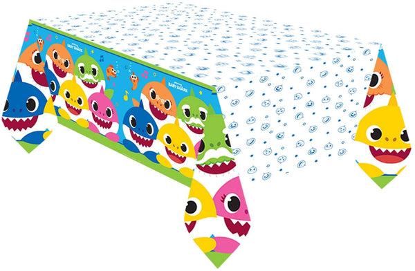 amscan Baby Shark Paper Table Cover
