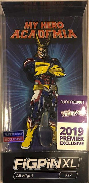 Figpin 2019 NYCC Funimation Exclusive Glitter All Might XL