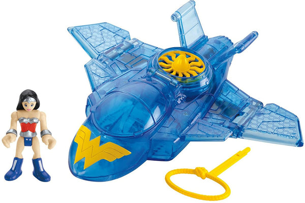 Fisher-Price Imaginext DC Super Friends, Wonder Woman & Invisible Jet