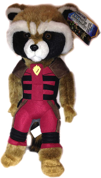 SDCC 2014 Marvel Exclusive Rocket Raccoon Ravager variant plush figure GOTG New with tags