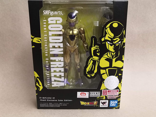Tamashii Nations SDCC 2019 Exclusive S.H. Figuarts Dragonball Golden Frieza Freeza DBZ