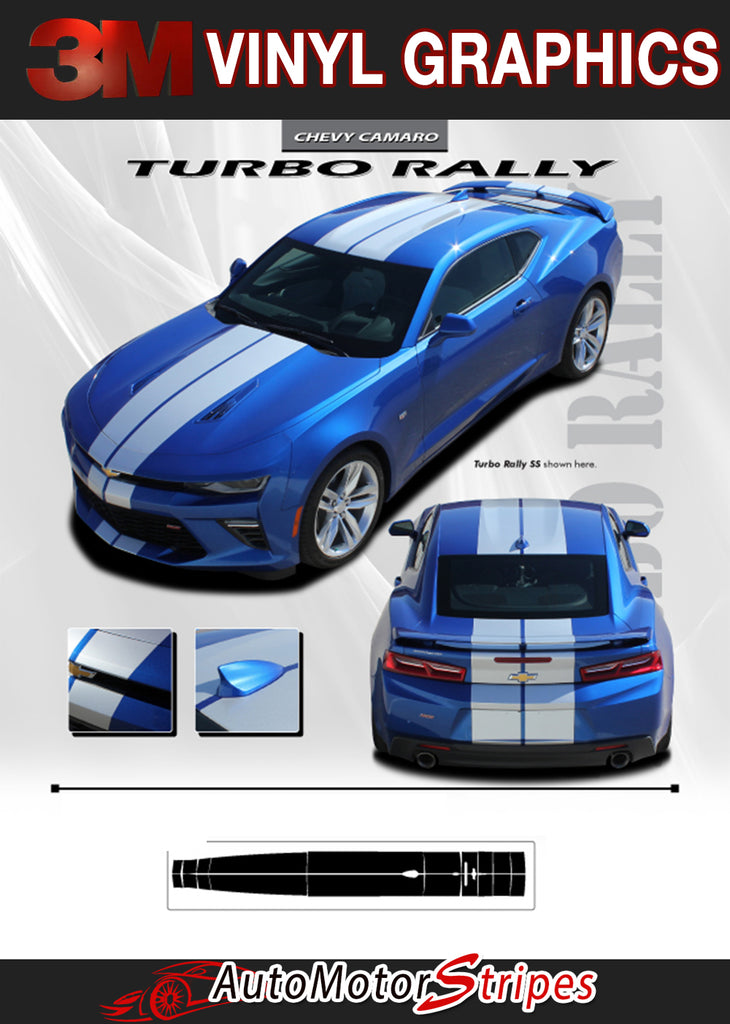 Chevy Camaro Stripes and Graphics | Camaro Decals Kits for 2016-2018 Models
