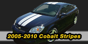 2005 2006 2007 2008 2009 2010 Chevy Cobalt Vinyl Graphics Decals Stripe Package Kits