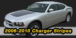 2006 2007 2008 2009 Dodge Charger Vinyl Graphics Decals Stripe Package Kits