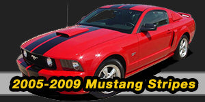 2009 2008 2007 2006 2005 Ford Mustang Vinyl Graphics Decals Stripe Package Kits