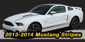 20132 2014 Ford Mustang Vinyl Graphics Decals Stripe Package Kits