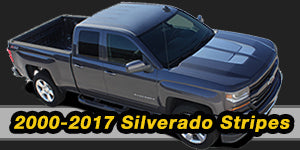 2000-2010 2011 2012 2013 2014 2015 2016 2017 Chevy Silverado Vinyl Graphics Decals Stripe Package Kits