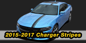 2017 2016 2015 2014 2013 Dodge Charger Vinyl Graphics Decals Stripe Package Kits
