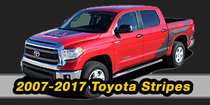 2016 2015 Toyota Tundra Vinyl Graphics Decals Stripe Package Kits