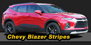 Chevy Blazer Vinyl Graphics Decals Stripe Package Kits