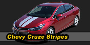 Chevy Cruze Vinyl Graphics Decals Stripe Package Kits