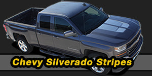 2000-2010 2011 2012 2013 2014 2015 2016 2017 2018 Chevy Silverado Vinyl Graphics Decals Stripe Package Kits
