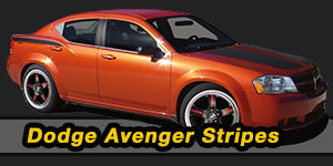 Dodge Avenger Vinyl Graphics Decals Stripe Package Kits