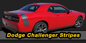 2018 2017 2016 2015 2014 2013 Dodge Challenger Vinyl Graphics Decals Stripe Package Kits