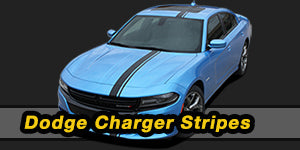 2018 2017 2016 2015 Dodge Charger Vinyl Graphics Decals Stripe Package Kits