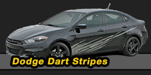 2013 2014 2015 2016 Dodge Dart Vinyl Graphics Decals Stripe Package Kits