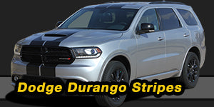 Dodge Durango Stripes Decals Vinyl Graphic Kits