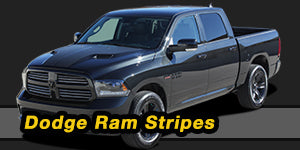 2018 2017 2016 2015 2014 2013 2012 2011 2010 2009 Dodge Ram Dakota Vinyl Graphics Decals Stripe Package Kits