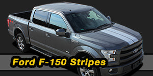 2014 2015 2016 2017 2018 Ford F-150 Vinyl Graphics Decals Stripe Package Kits