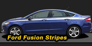 Ford Fusion Vinyl Graphics Decals Stripe Package Kits