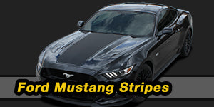 2017 2016 2015 Ford Mustang Vinyl Graphics Decals Stripe Package Kits