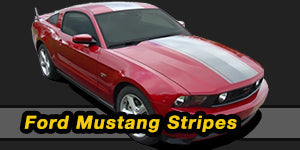 2012 2011 2010 Ford Mustang Vinyl Graphics Decals Stripe Package Kits