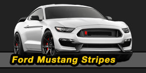 2018 2019 Ford Mustang Stripes Decals Vinyl Graphic Kits