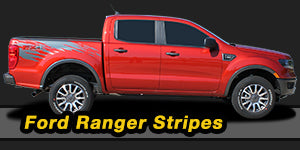 Ford Ranger Vinyl Graphics Decals Stripe Package Kits