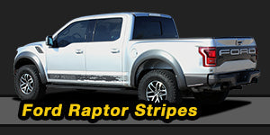Ford Raptor Vinyl Graphics Decals Stripe Package Kits