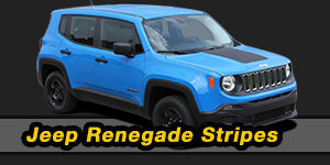 2007-2017 Jeep Renegade Vinyl Graphics Decals Stripe Package Kits