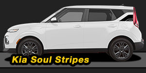 2020 Kia Soul Stripes Decals Vinyl Graphic Kits