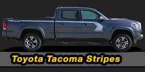 2020 2019 2018 2017 2016 2015 Toyota Tacoma Vinyl Graphics Decals Stripe Package Kits