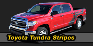 2017 2016 2015 Toyota Tundra Vinyl Graphics Decals Stripe Package Kits