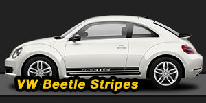 VW Beetle Vinyl Graphics Decals Stripe Package Kits
