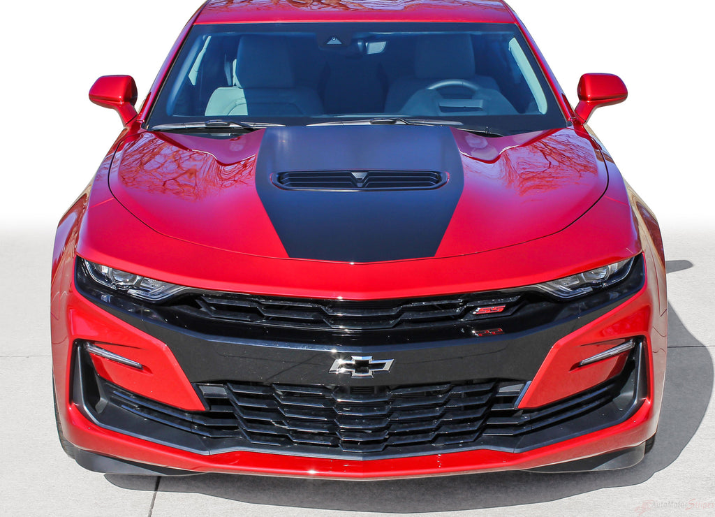 2019 Chevy Camaro Stinger Hood Decal Shock Center Stripe 3M Vinyl Graphics Kit